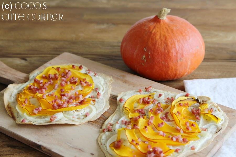 Pumpkin Tarte Flambée