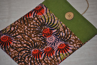 Lanyap Studios - African print notebook cover - iloveankara.blogspot.co.uk