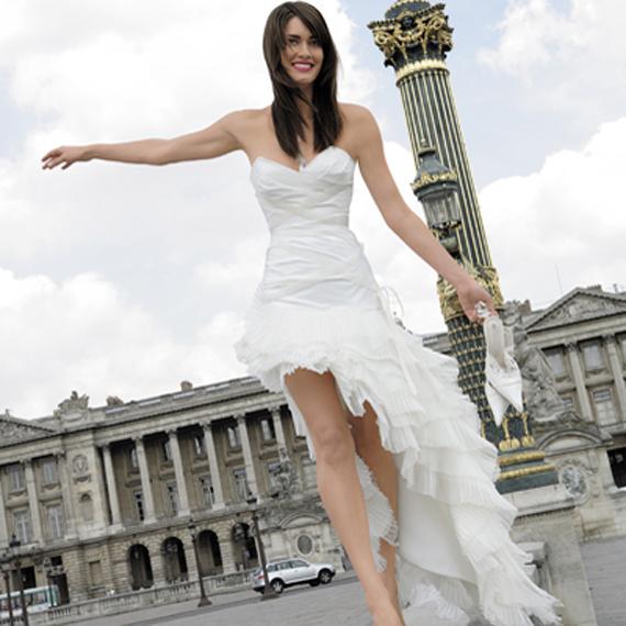 Modern Short Wedding Dresses 2012