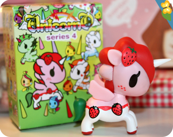 Unicorno series 4 by Tokidoki : Ruby