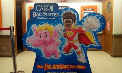 CARRIE BAC BUSTER menghalang anak anda dari Bakteria Jahat
