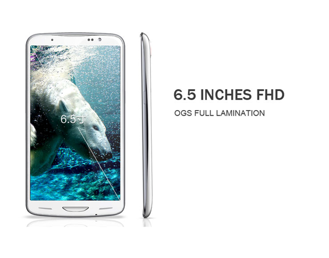 inew i6000+ offering 6.5inch FHD Retina display (1080P)