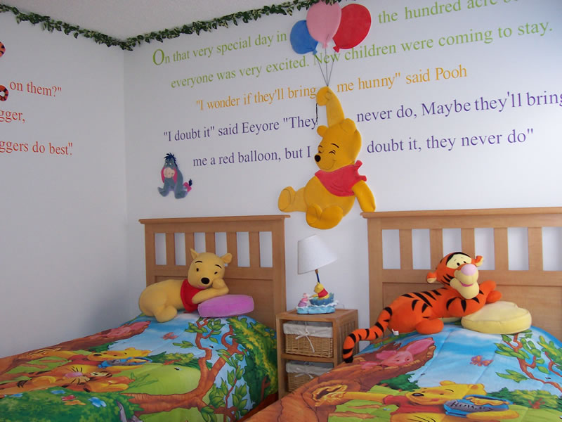 best home interior design wninnie the pooh bedroom decoration