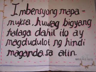 slogan tungkol sa wika tagalog Magandang slogan tungkol sa pamilya - 159146 1  log in join now elementary school filipino 5 points magandang slogan tungkol sa pamilya advertisement .
