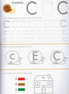 Escrever a Letra C