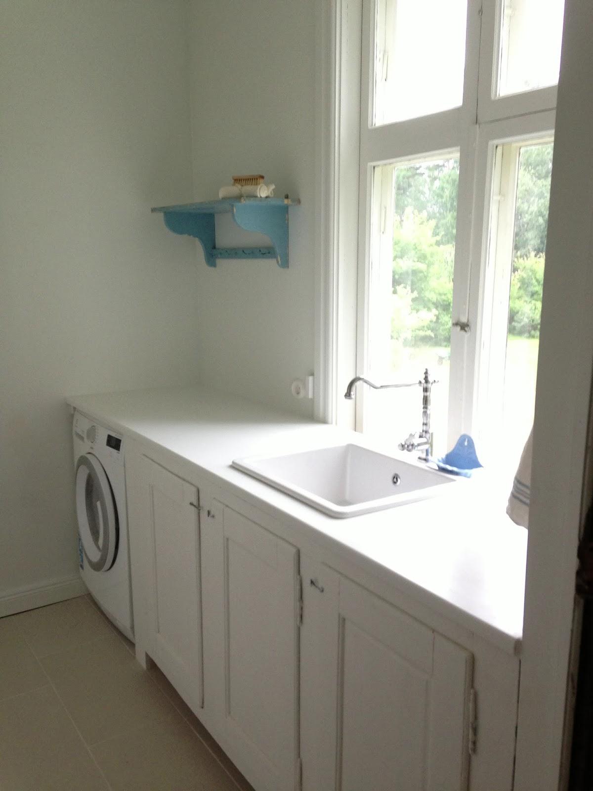 Söta prickar: tvättstuga