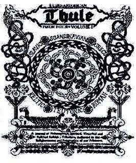 Die thule gesellschaft ist eine deutschen okkulte vereinigung die ende