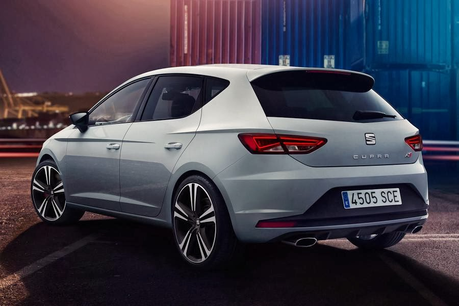 Seat Leon Cupra 280 (2014) Rear Side