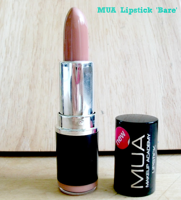MUA Bare Lipstick Review