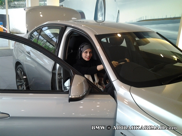 Adibah Karimah a premium beautiful corset top online marketing agent at BMW