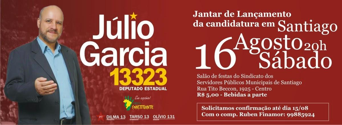 Blog Do Júlio Garcia Lançamento Da Candidatura Júlio Garcia