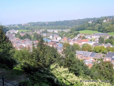 rio sambre, thuin, belgica