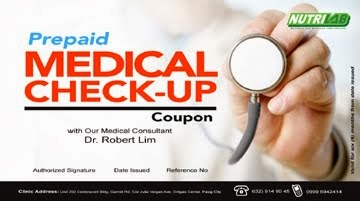 Prepaid Medical Check-Up Coupons
