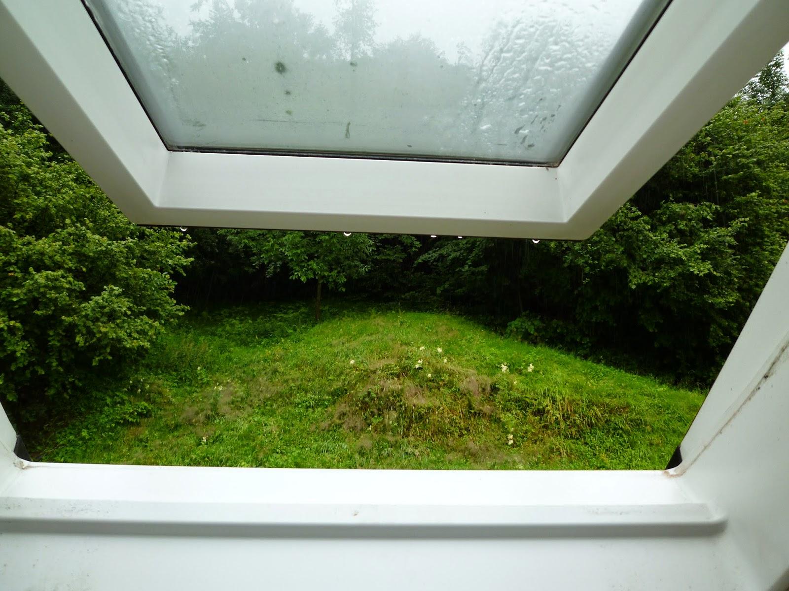 Stoff mit stil 12 von 12 im juli for Fenster nass
