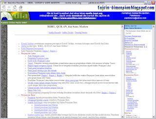 E-Book, Bibel, Qur'an, & Sains Modern