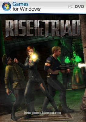 Rise of the Triad PC Cover