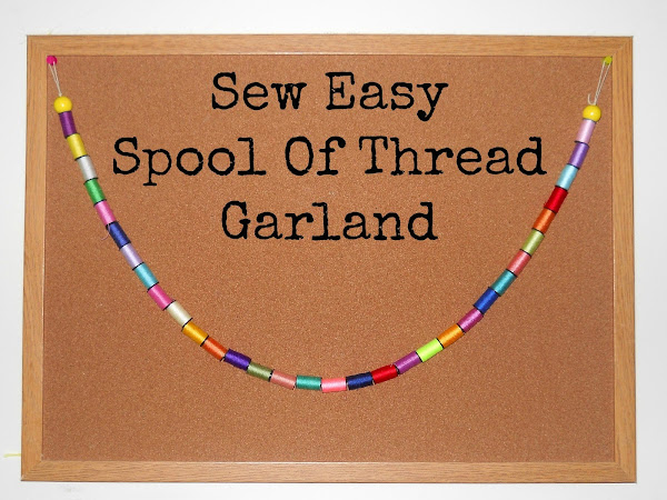 Sew Easy Spool Of Thread Garland