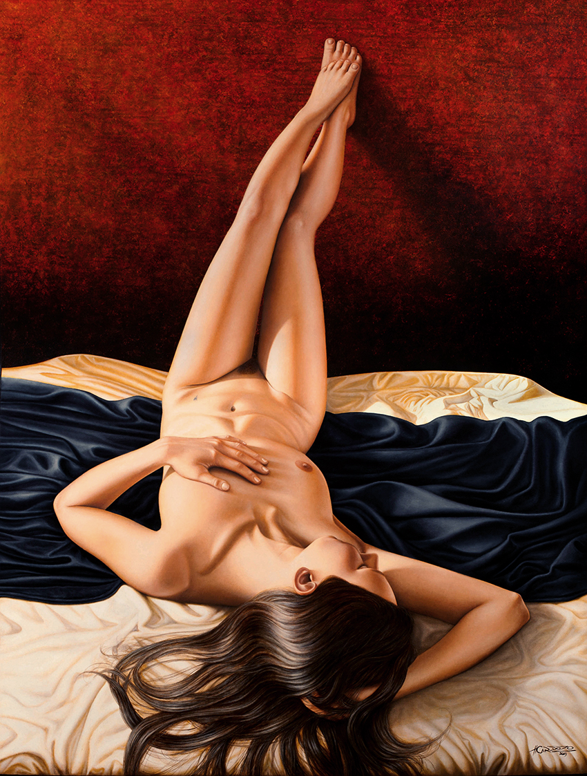 Happens. Let's Reclining nude art photography