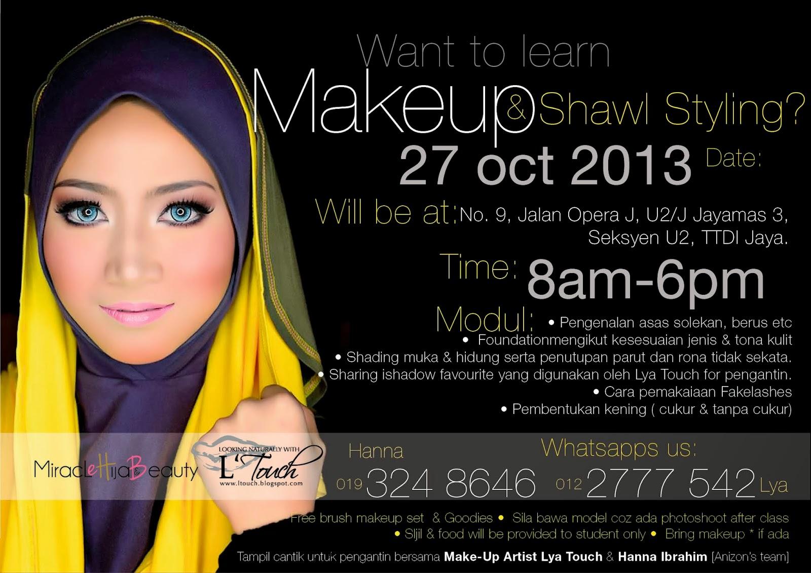 make up artist l touch andaman pengantin 012 2777 542
