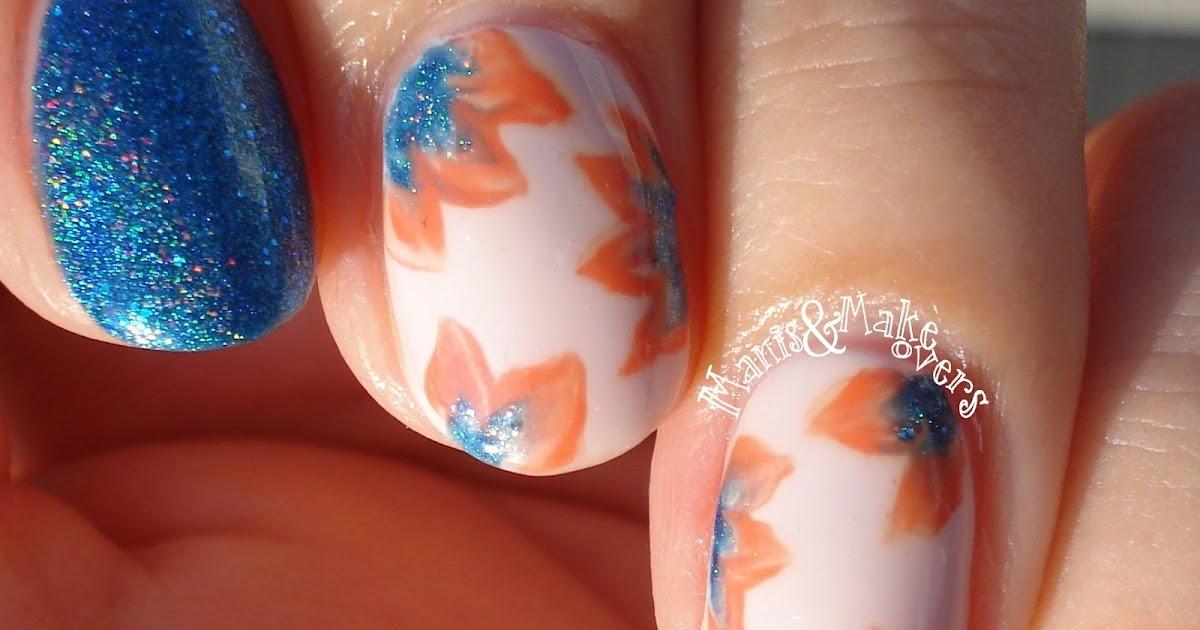 southern sparkle nail art twinsie