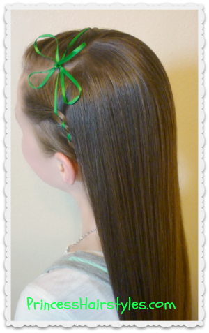 St. Patrick's Day hairstyle tutorial