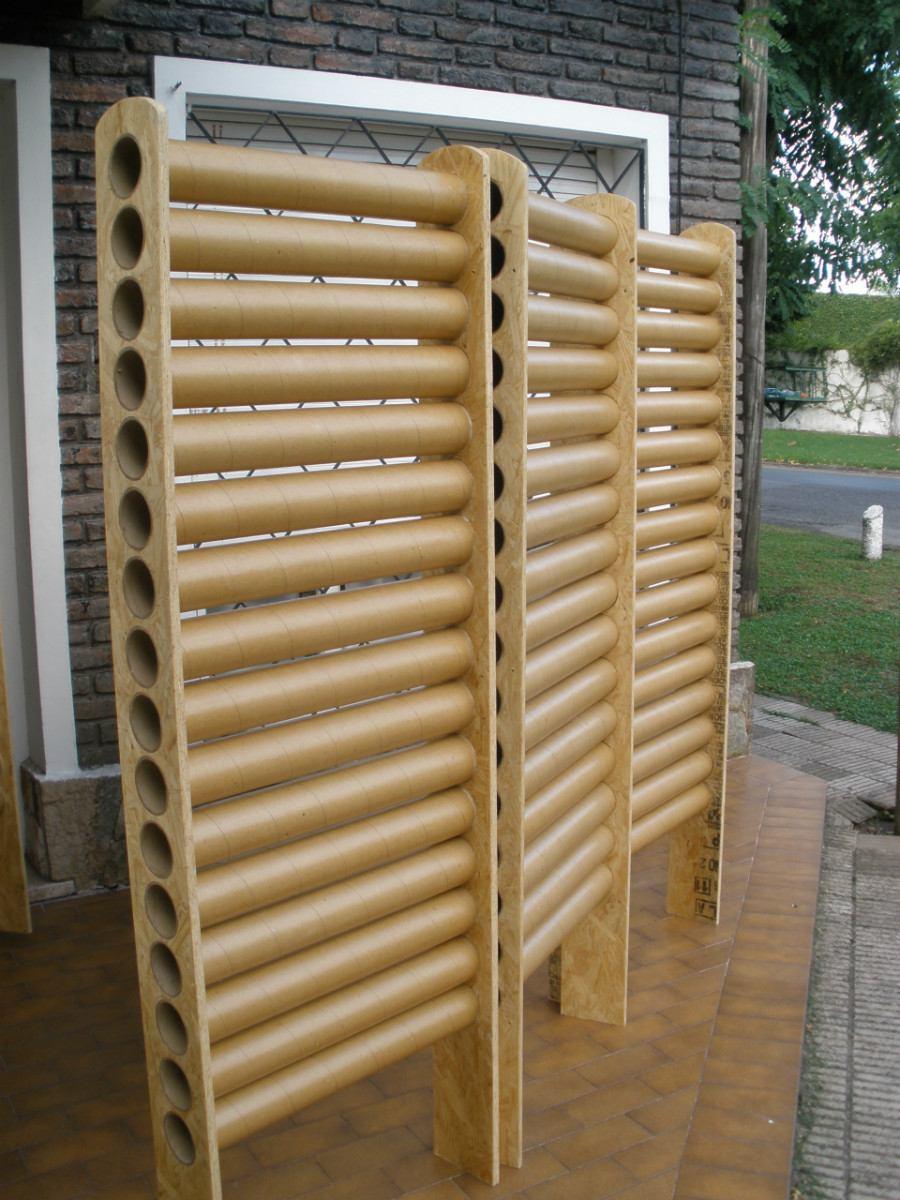 ideas para separar ambientes desde la utilizacin de unas cortinas hasta reciclando el cartn de los rollos de papel de cocina