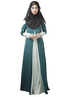 Model baju gamis muslim pria wanita dan anak-anak