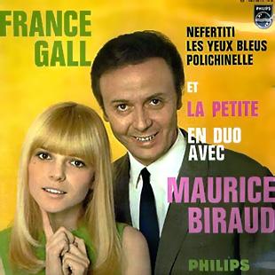 France Galle et Maurice Biraud dans les années 60