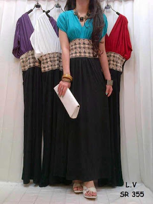 Maxi Dress Etnik Kode SR 355