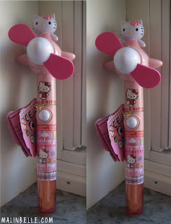 Hello Kitty Portable Small Mini Electric Fan