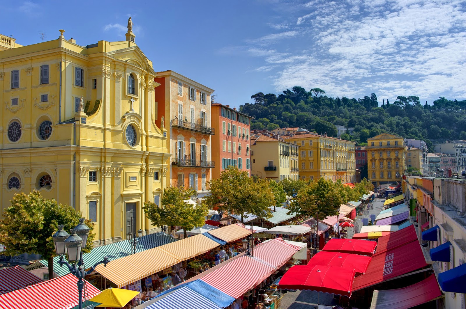 Nice Markets - South France Villas