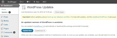 WordPress 3.4 Latest Version Released