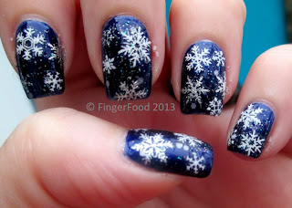 Fingerfood_christmas nails