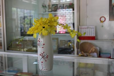 Hoa để bàn làm việc 01