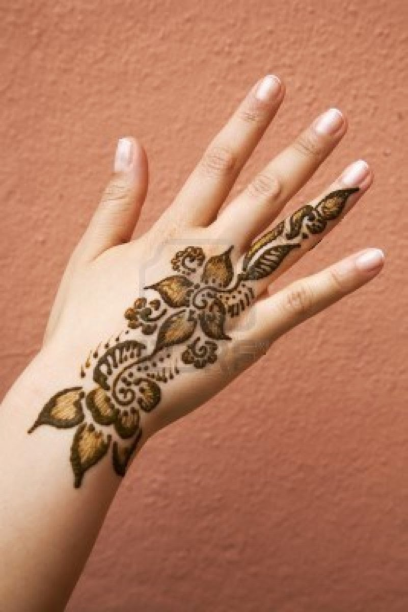 Mehndi Hand Tattoo Art : Henna designs tattoo hair dye for