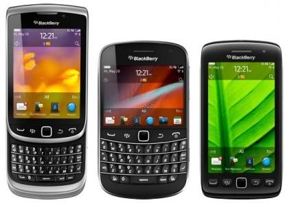 Ini Dia 5 Blackberry Baru Dengan OS 7