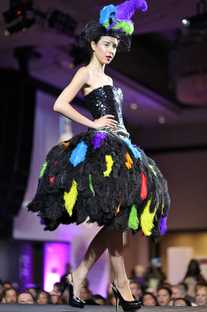 fwsd-ostrich-feather-dress-fashion-week-san-diego-spring-preview-event-2014-king-and-kind