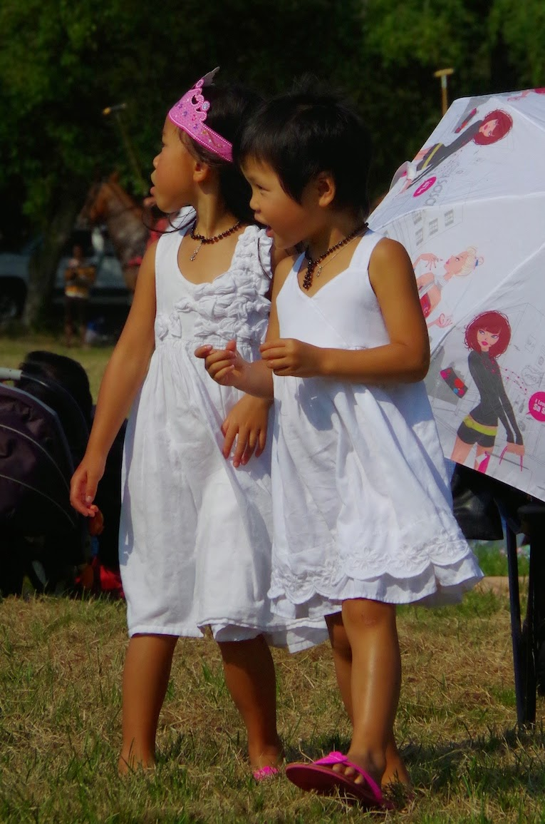 Young spectators at The Southlands Cup: Beyond the Blue Umbrella