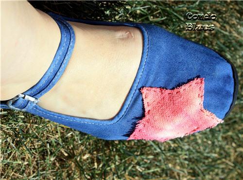 drop cloth tie dye shoes