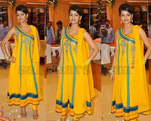 Yellow Salwar for Regular Parties