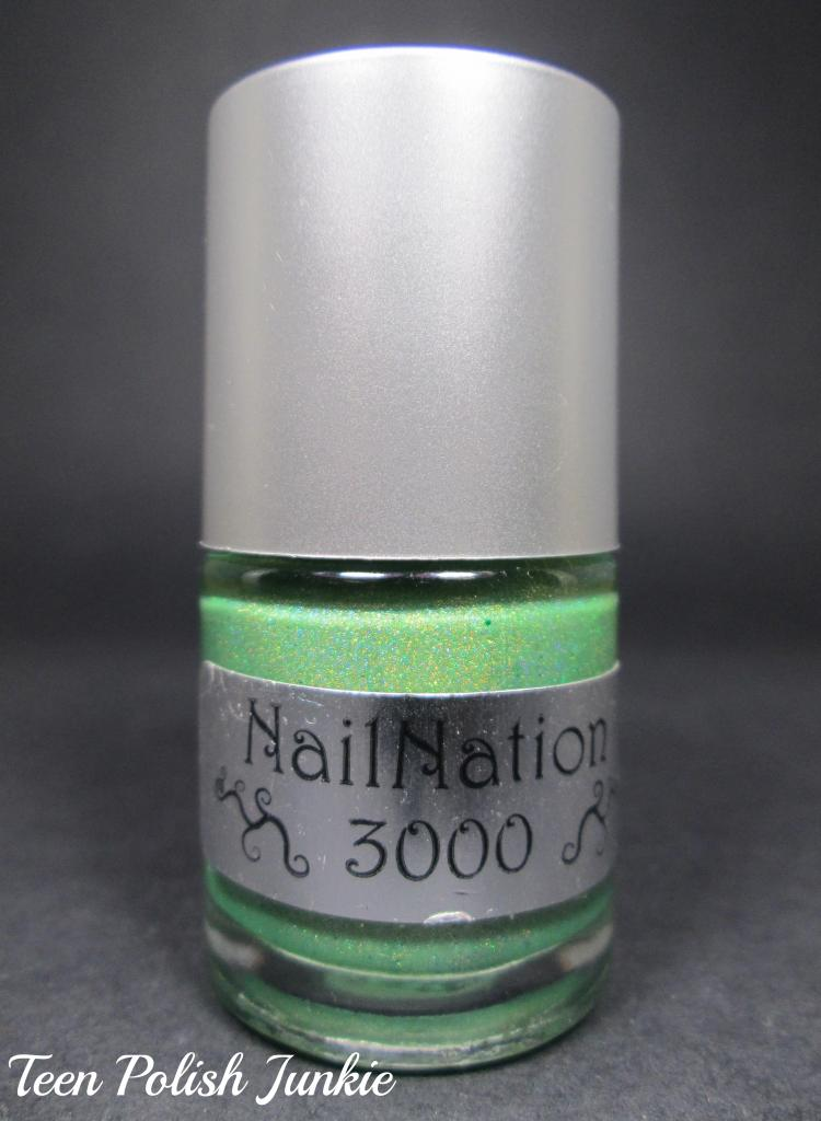 Nail Nation 3000 - Glow Worm Swatches & Review