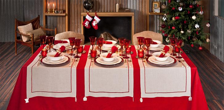 os dejo unas ideas sugerentes para que os animen a decorar con estilo vuestras mesas de navidad