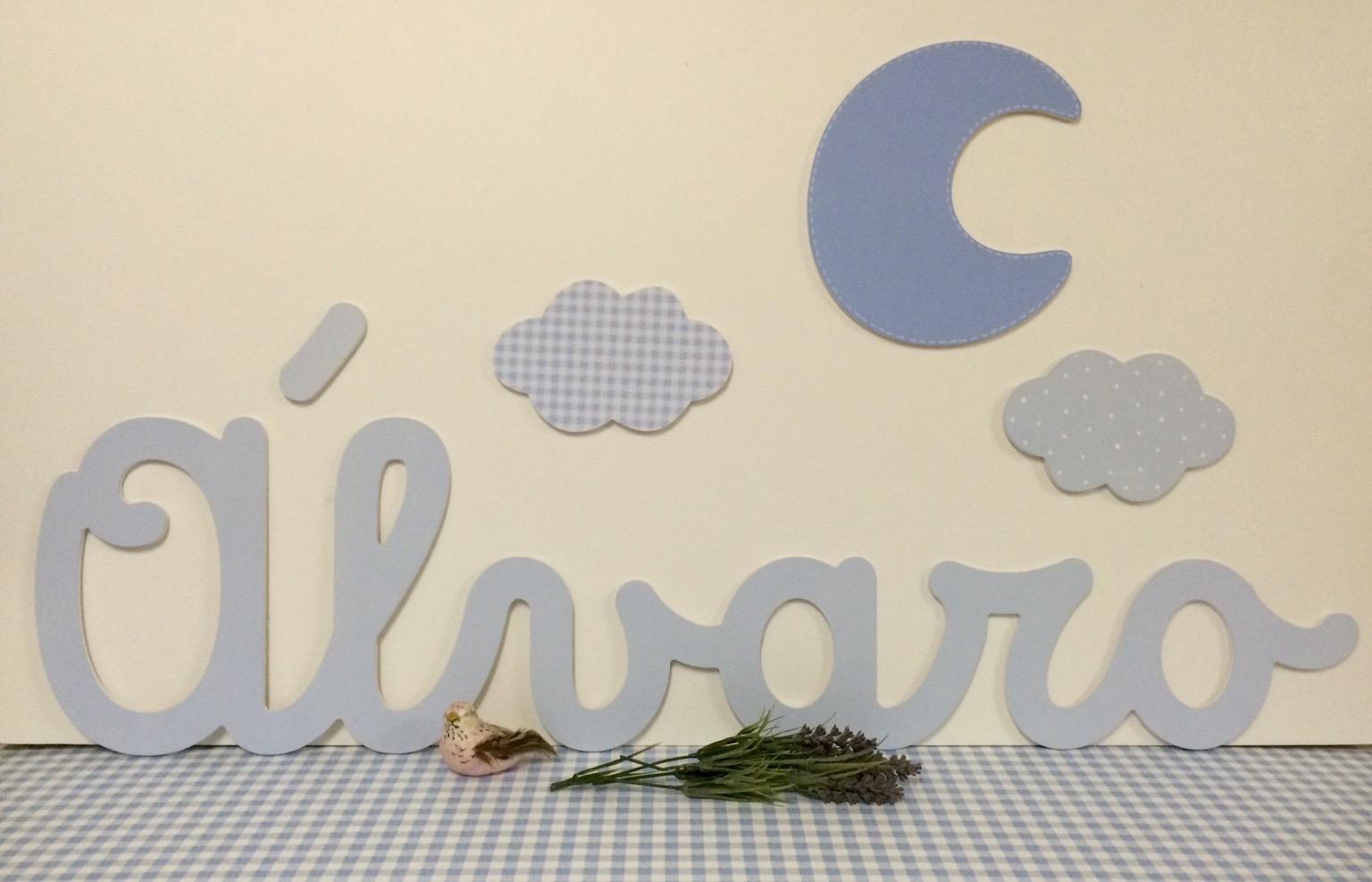 Letras decorativas infantiles para poner en la pared - Letras decorativas pared ...