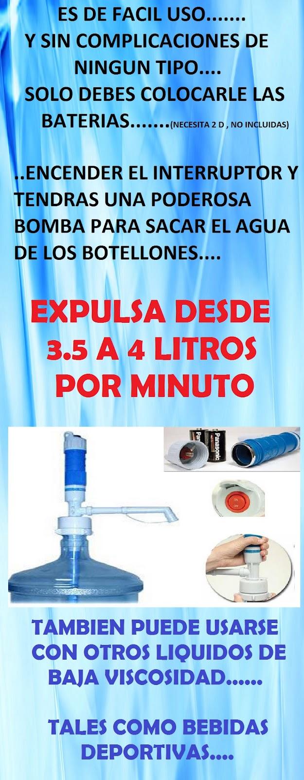 Bomba de agua electrica para garrafon el mejor precio idd - Bomba de agua precio ...