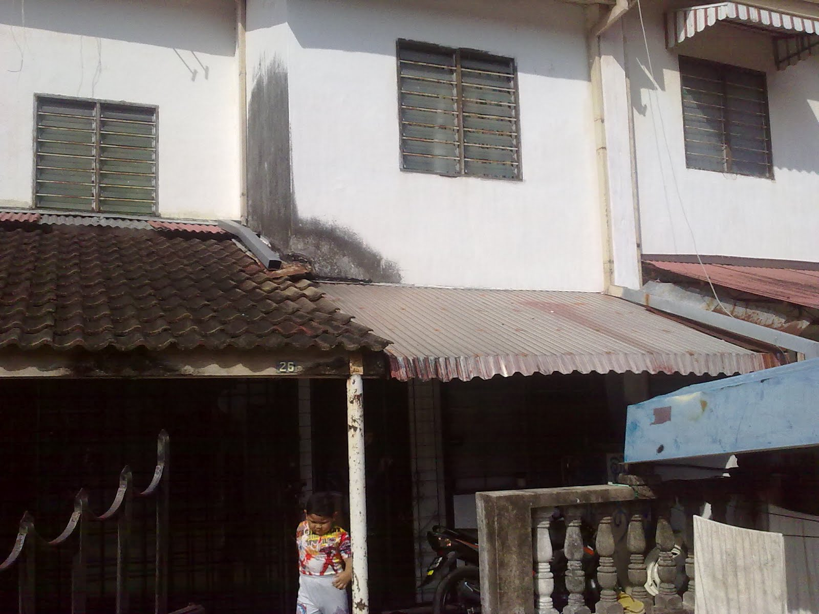 Property for sale double storey terrace bukit gedung for 7 terrace penang