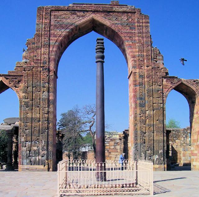 ASHOKA PILLAR, DELHI (INDIA)