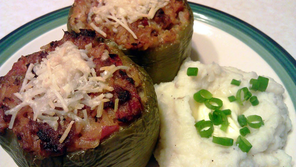 The Firehouse Cook: Stuffed Peppers