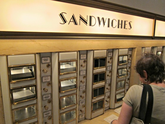 and a replica of the automat although sadly without food. I saw the ...