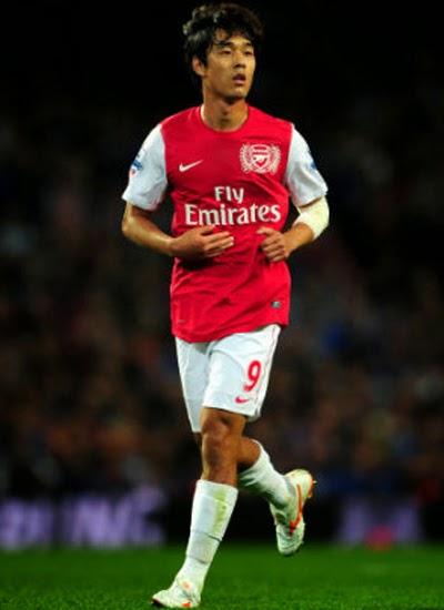 Park Chu-Young Striker Arsenal Profile