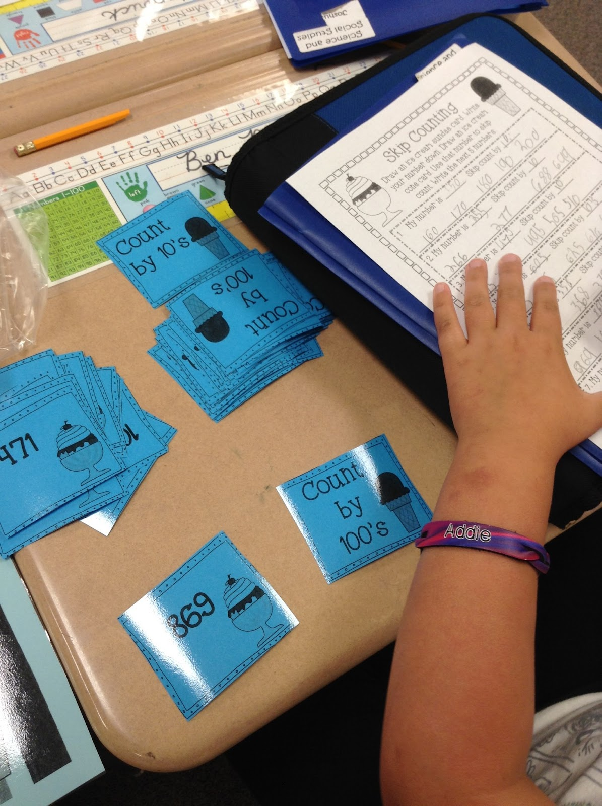 Super Second Grade Smarties: Summer Math Centers and a Summer Countdown!